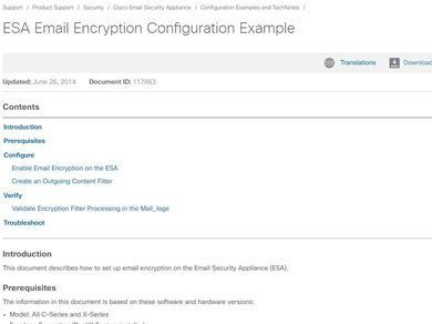 User Guide] Email Encryption