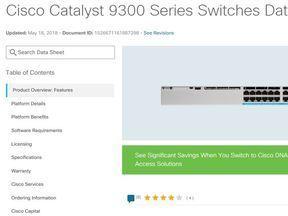 Catalyst 9300 Series Data Sheet