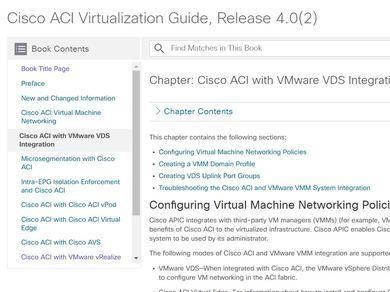 Guide] ACI Virtualization - VMware VDS Integration