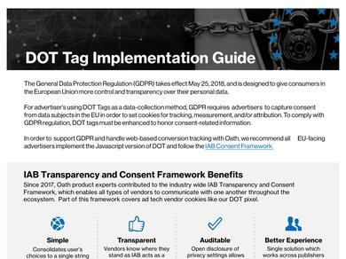 Dot Tag GDPR Implementation Guide