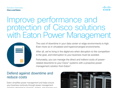 Improve performance and protection of Cisco solutions with