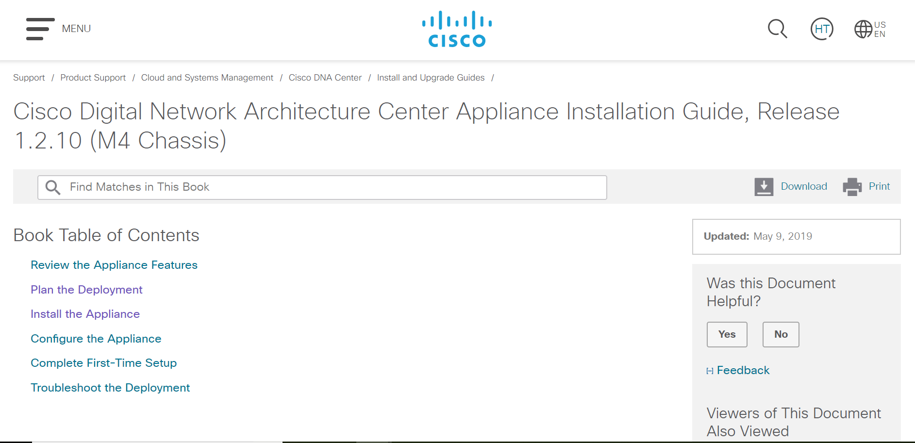 Guide] Cisco Digital Network Architecture Center Appliance