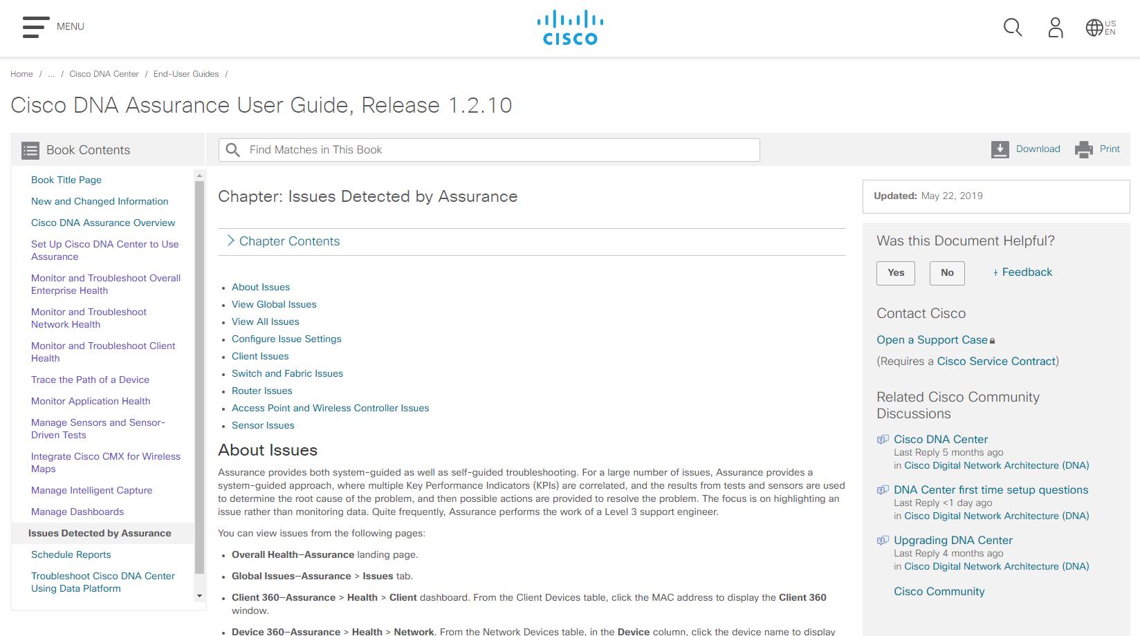 Guide] Cisco DNA Assurance User Guide, Release 1 2 10