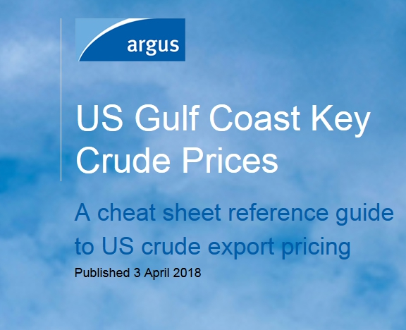 Argus - US Gulf Coast Key Crude Prices