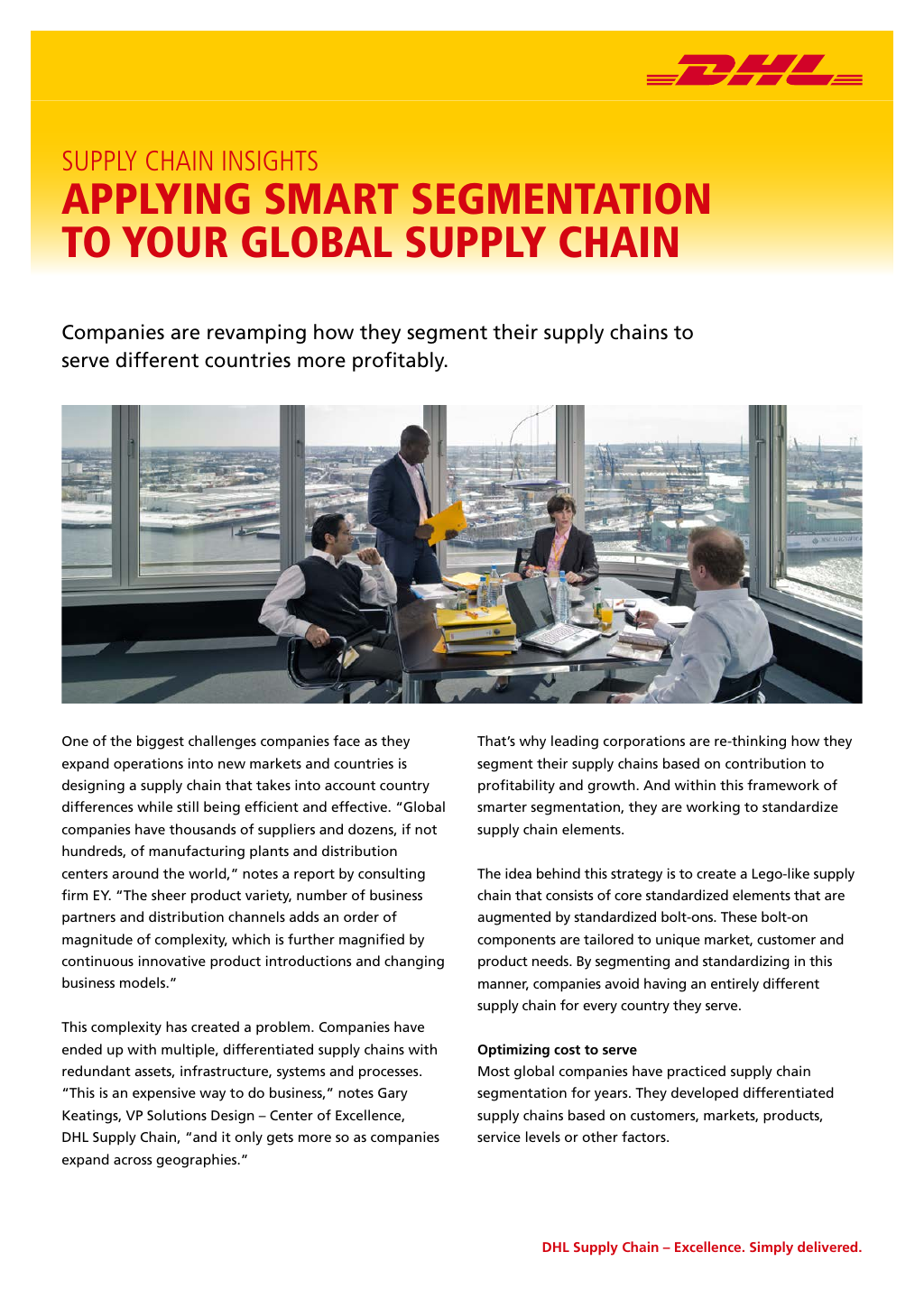 Fact Sheet | DHL Supply Chain at a glance