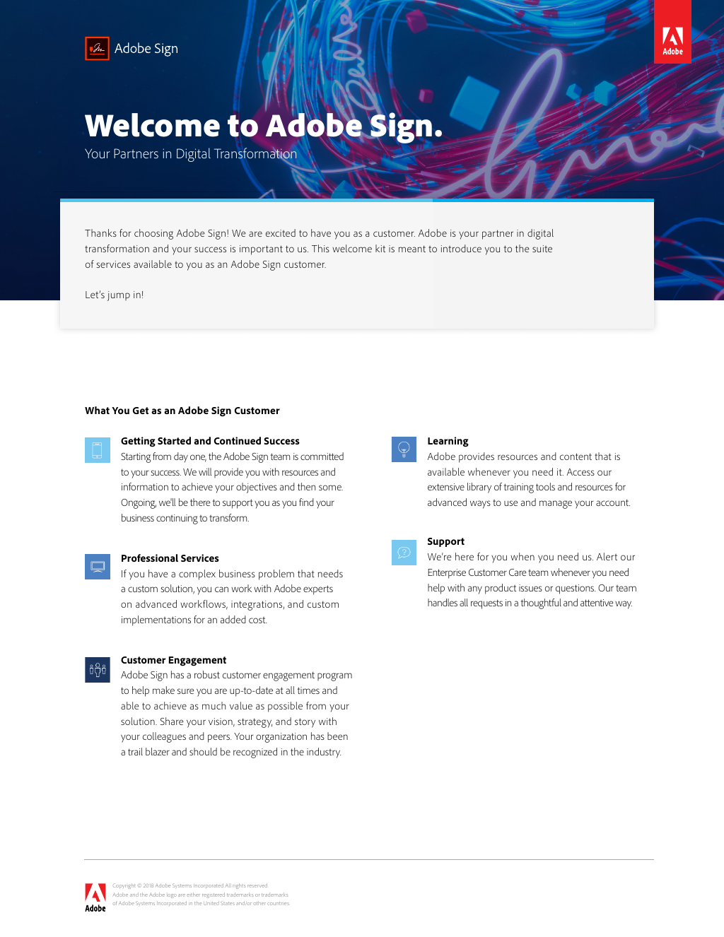 Welcome to Adobe Sign!
