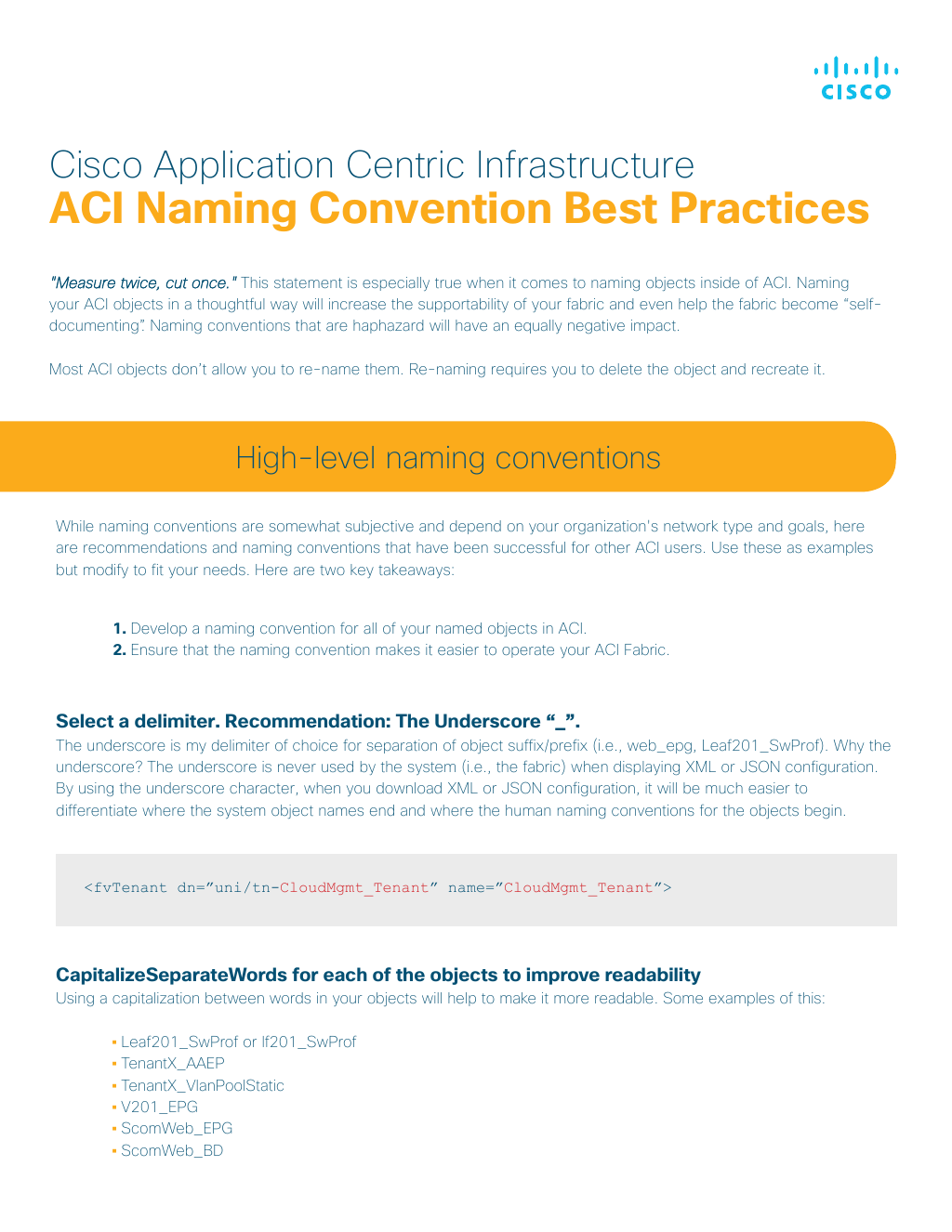 Guide] Naming Convention Best Practices