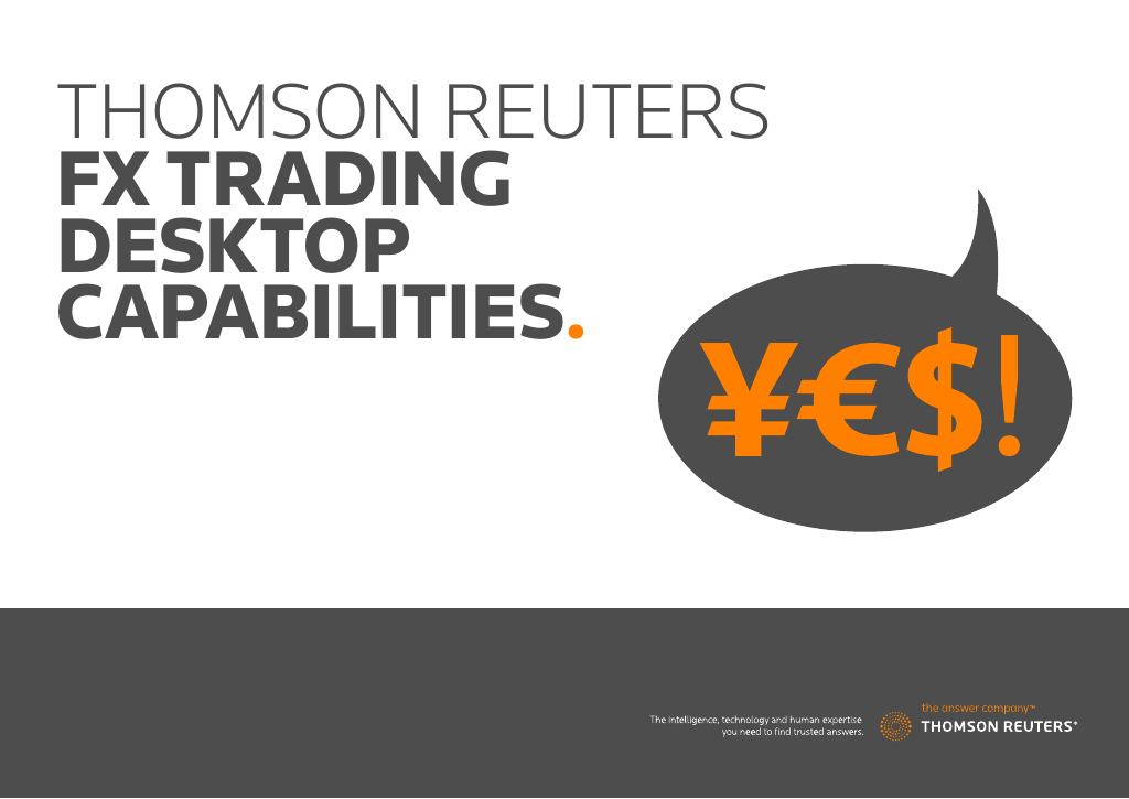 Thomson Reuters Fx Trading Booklet