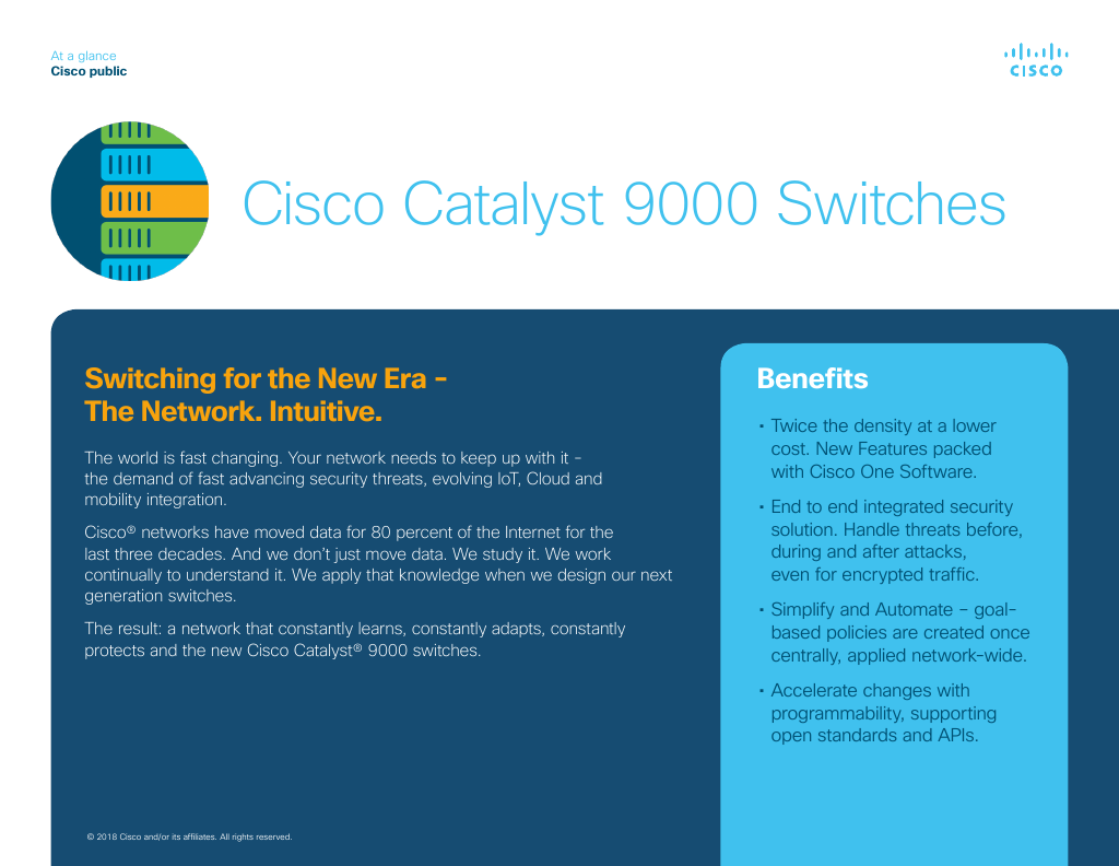 Catalyst 9500 Series Switches Data Sheet
