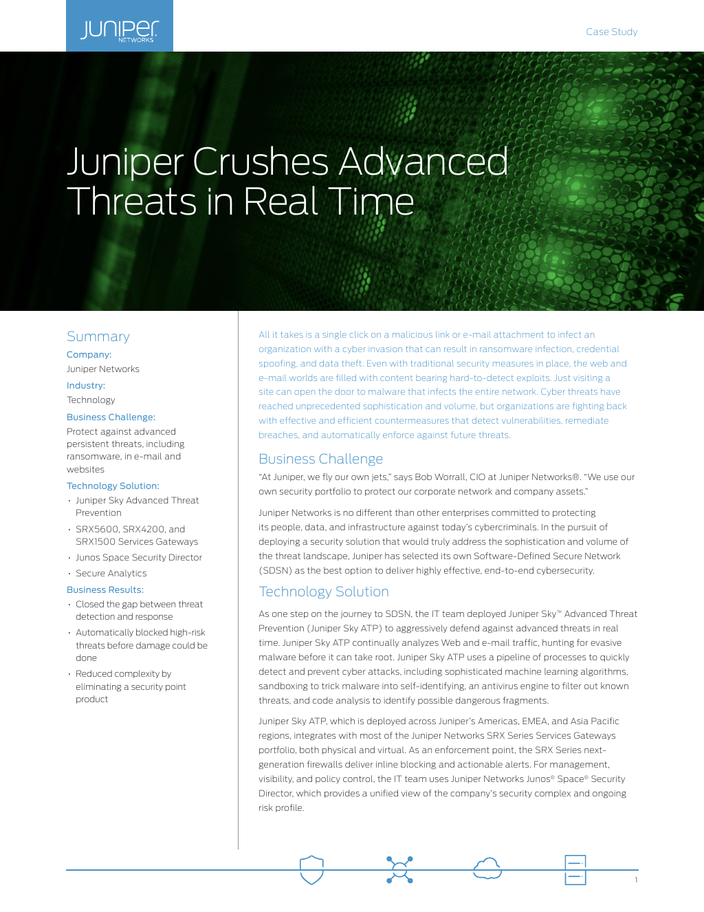 Solution Brief: Building A Software Defined Secure Network