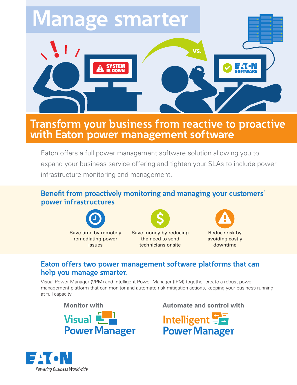 Eaton power management software comparison