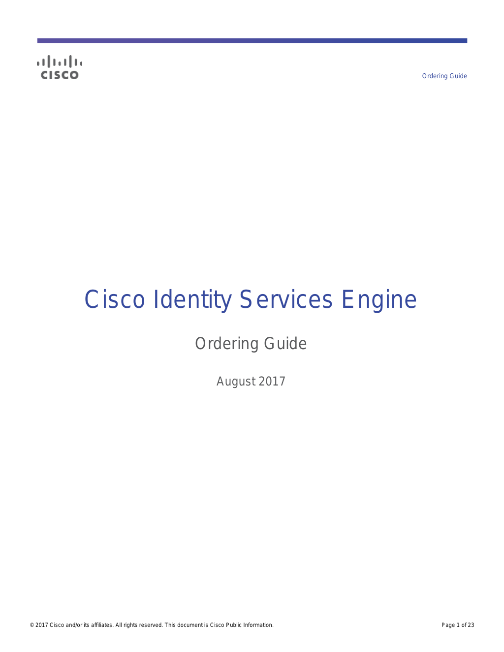 Cisco ISE 2 3 Installation Guide