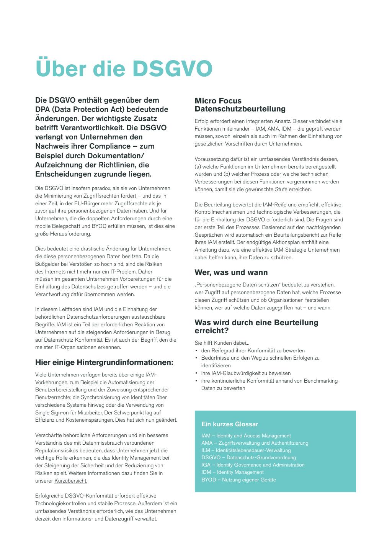 Gdpr Datenschutzbeurteilung