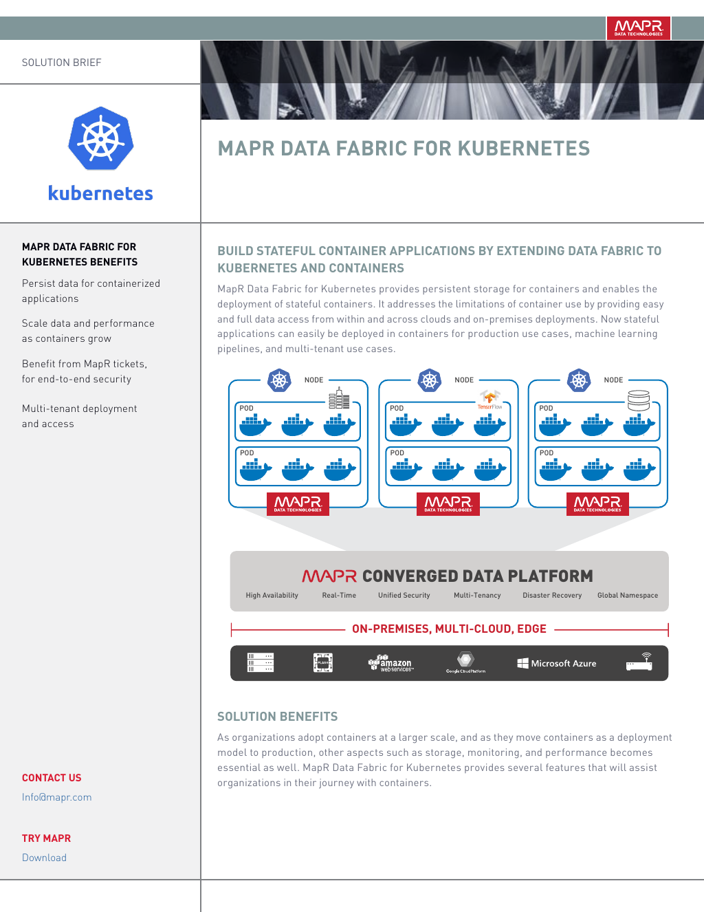 Inside MapR's Support for Kubernetes by Datanami