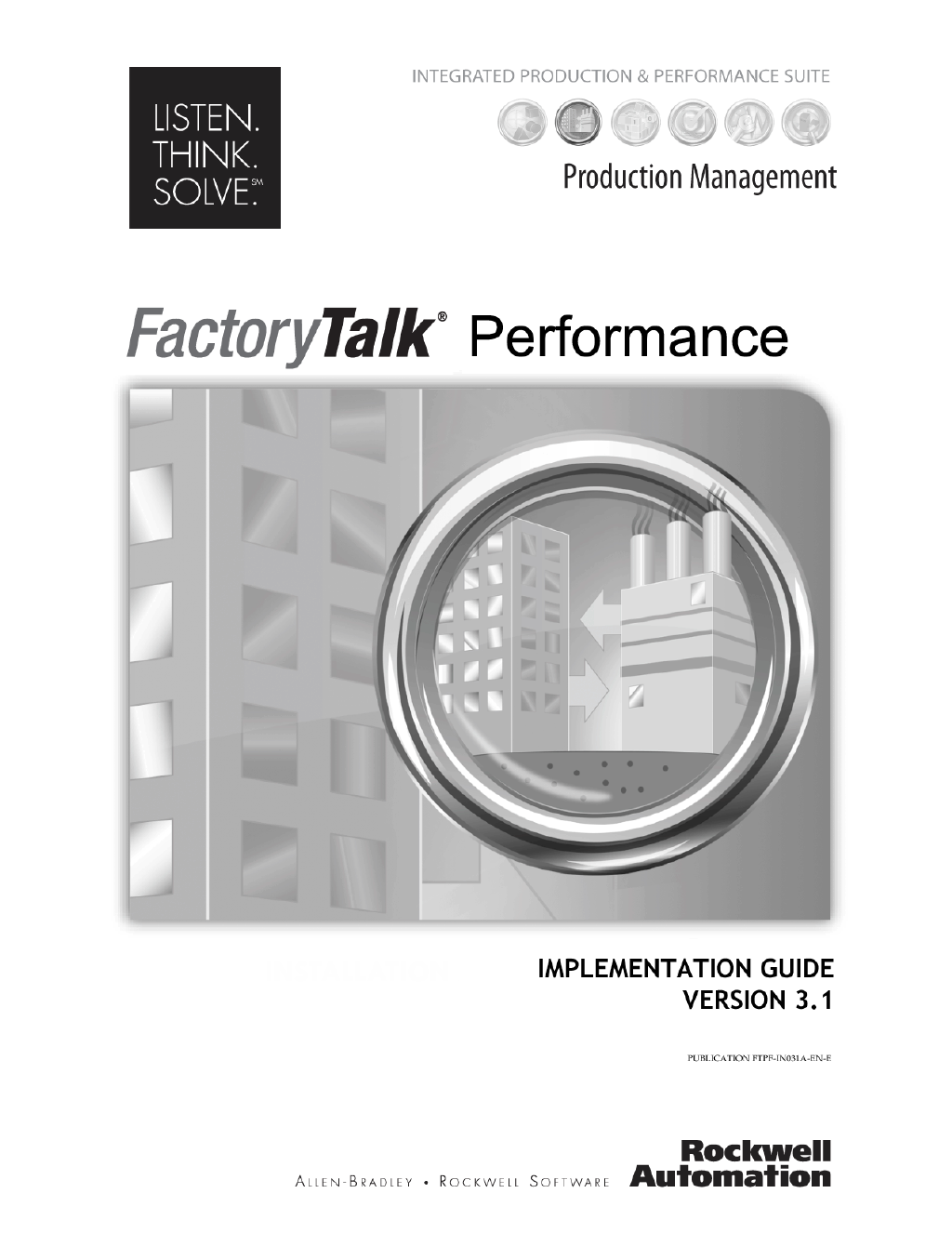 factorytalk performance management user guide rh rockwell lookbookhq com User Guide Icon Instruction Manual