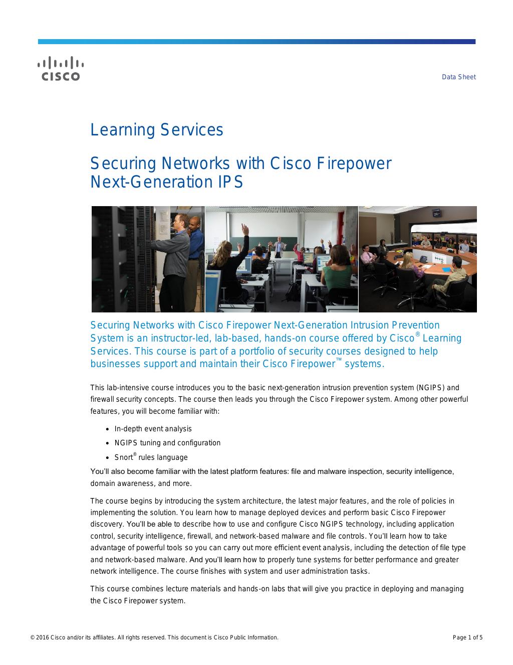 Cisco Next-Generation Firewall Resource Center: Activate