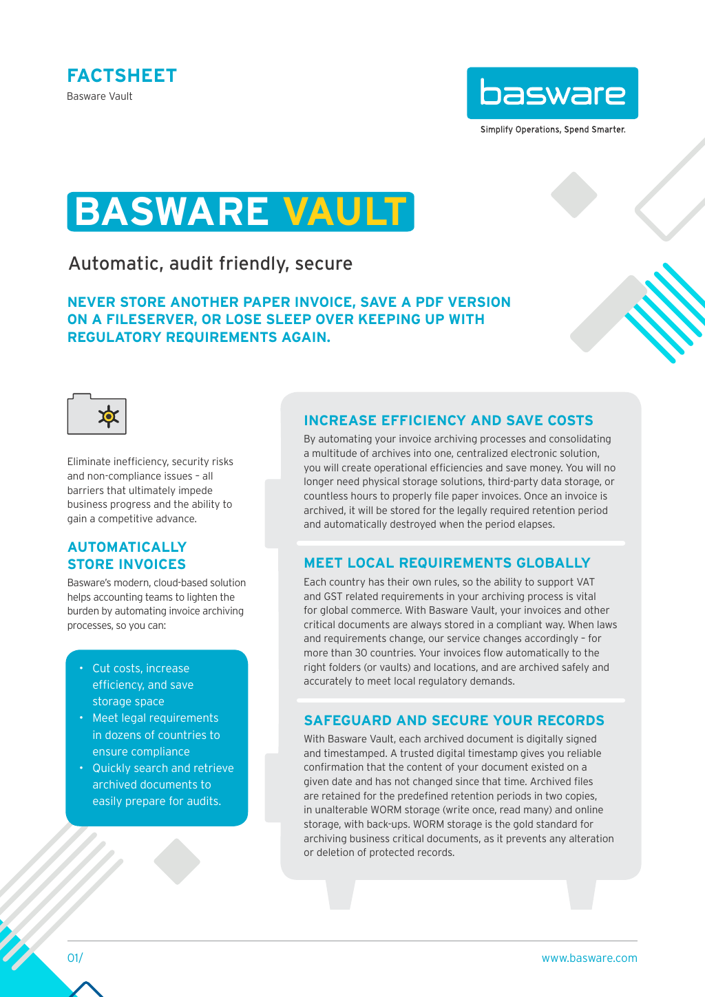 Achieve Total Document Compliance with Basware Archive - Basware
